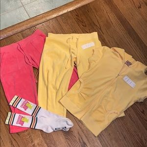 Juicy Couture clothing set ❤️✨💛